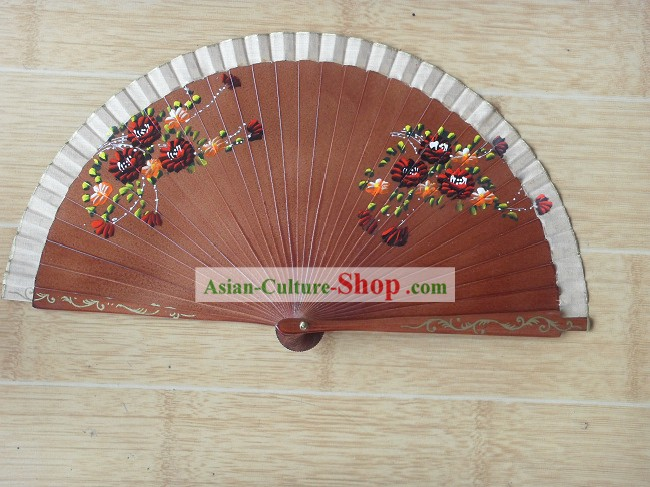 Chinese Hand Painted Small Fan