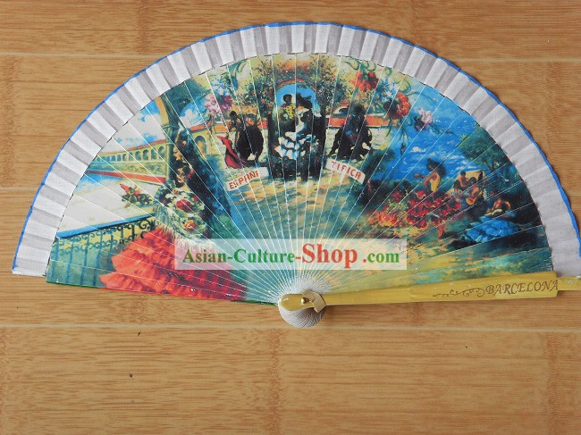 Spain Style Dance Folding Fan