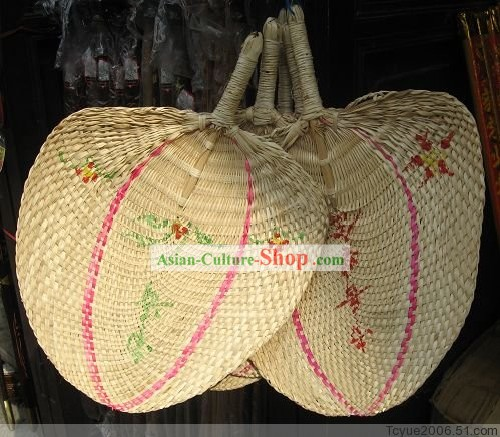 Chinese Handmade Straw Fan