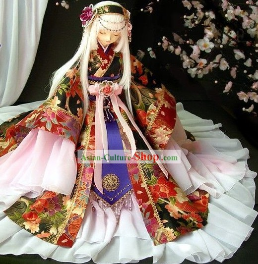 Japanese Princess Costumes Complete Set