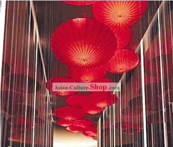 40 Inch Large Decoration Ceiling Umbrellas
