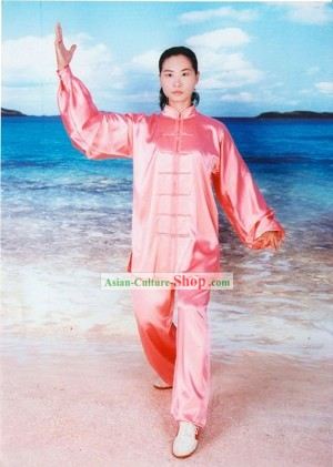 Chinese Professional Tai Chi Chuan 100% Silk Uniform