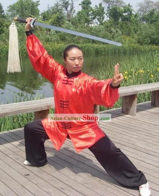 Professional Martial Arts Tai Chi Master Dress Set