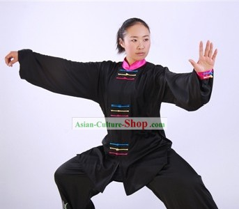 Chinese Professional Martial Arts Tai Chi Uniform Complete Set
