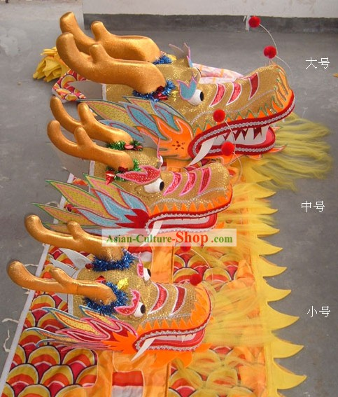 Chinese Traditional Dragon Head