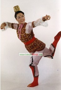 Chinese Classic Female Warrior Hua Mulan Costume Complete Set