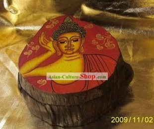 Traditional Asia Thai Wooden Box
