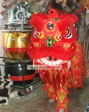Traditional FUT SAN Lion Dance Costumes Complete Set
