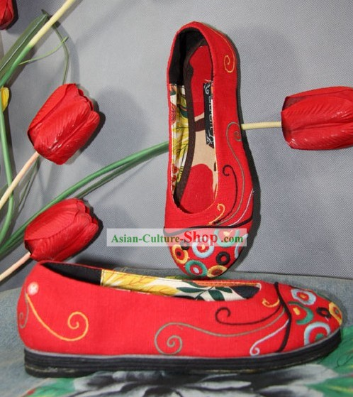 Chinese Classic Shoes/Ancient Women Shoes/Chinese Wedding Shoe