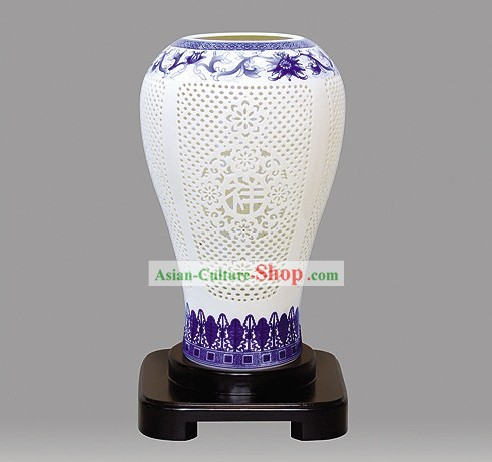 Blue and White Porcelain Lantern/Traditional lanterns/Chinese Ancient Lantern