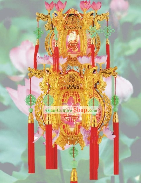 Chinese Classical Two Layers Palace Lantern