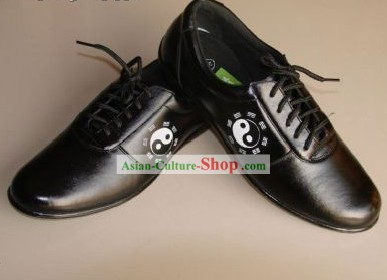 Chinese Professional Black Tai Chi (Taiji) Shoes/Kung Fu Shoes