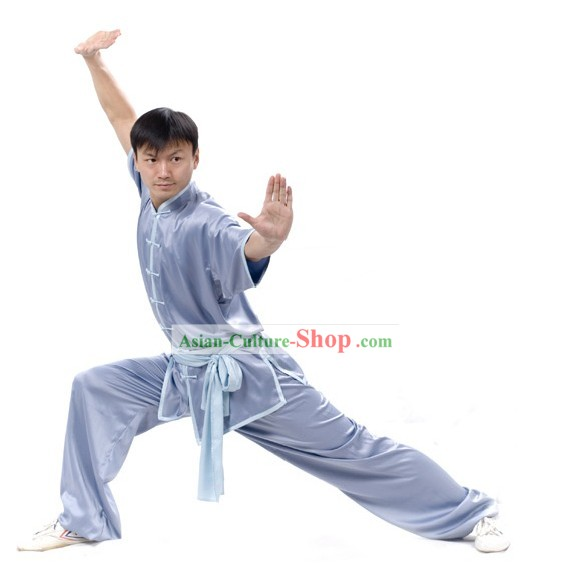 Chinese Professional Silk Wushu Uniform/Wushu Clothing