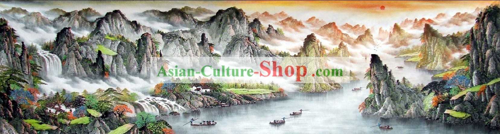 Chinese Traditional Landscape Paintings
