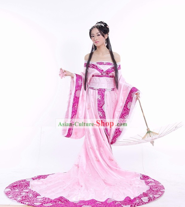 Chinese Classical Ancient Princess Costumes Complete Set