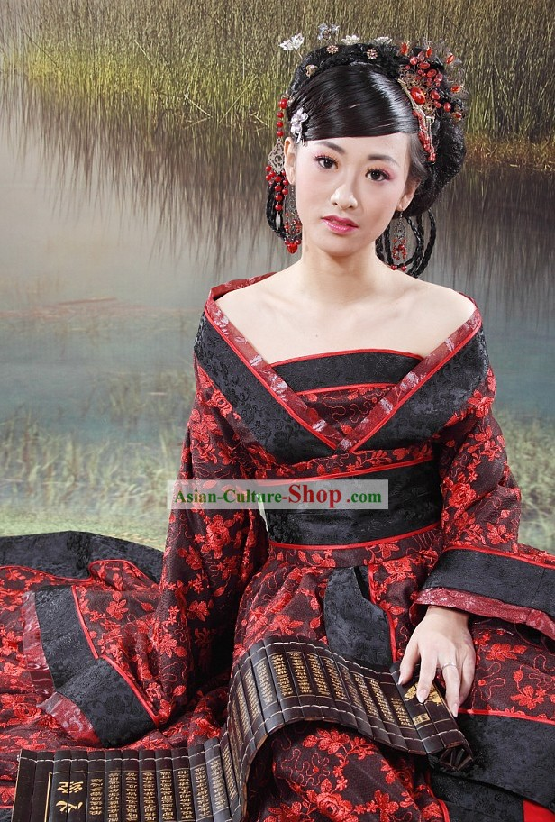 Ancient Imperial Chinese Empress Costumes Complete Set