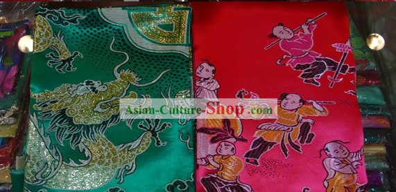 Chinese Traditional Wedding Bedcover - Hundreds of Children