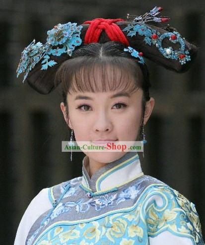 Chinese Classical Princess Manchu Hat