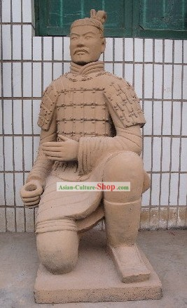 China Terra Cotta Warrior (antique reproduction)