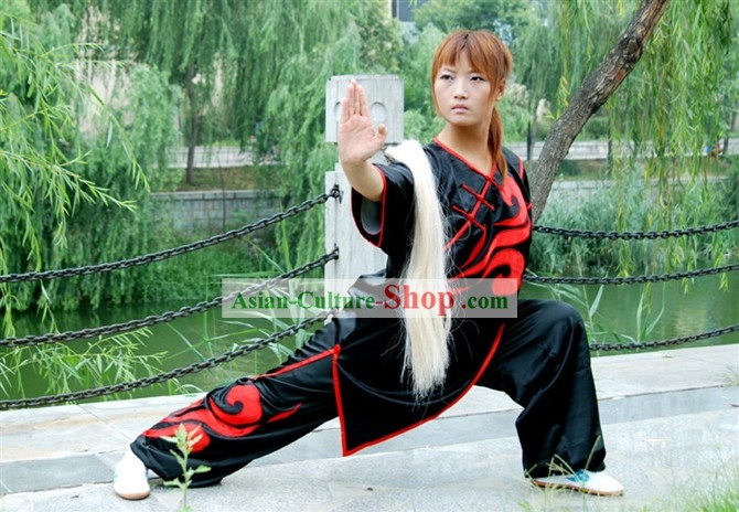 China Professional Martial Arts Tai Chi Uniform Complete Set