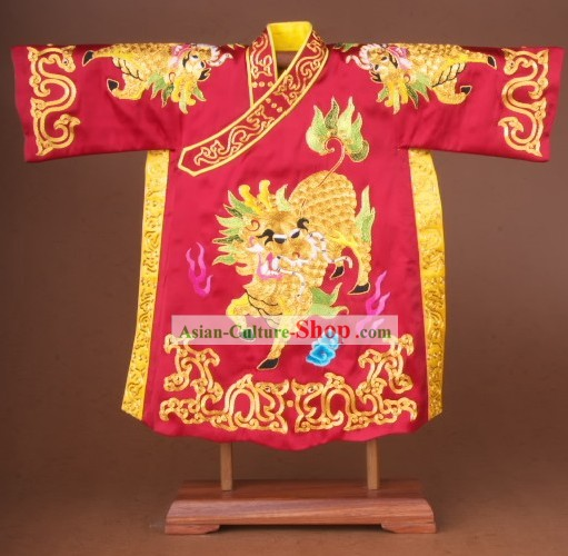 Chinese Classical Beijing Opera Lion Dance Costumes