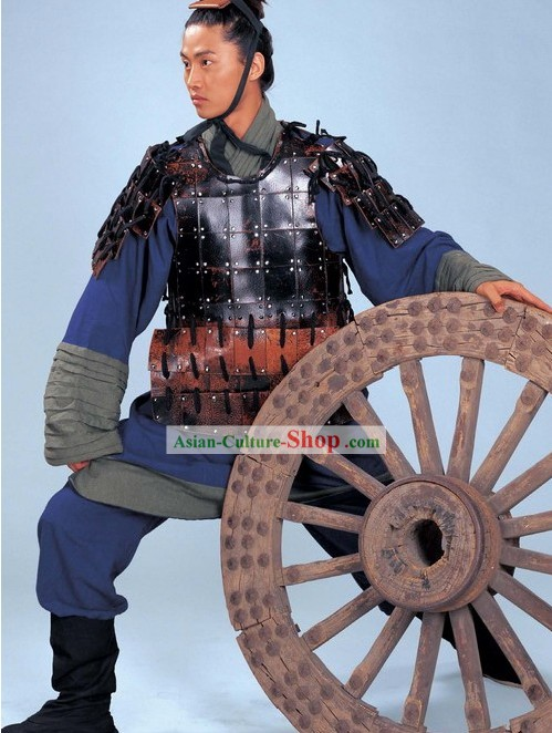 Terra Cotta Warrior Costume and Hat Complete Set