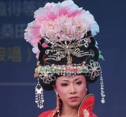 Ancient China Empress Phoenix Hair Decoration and Wig