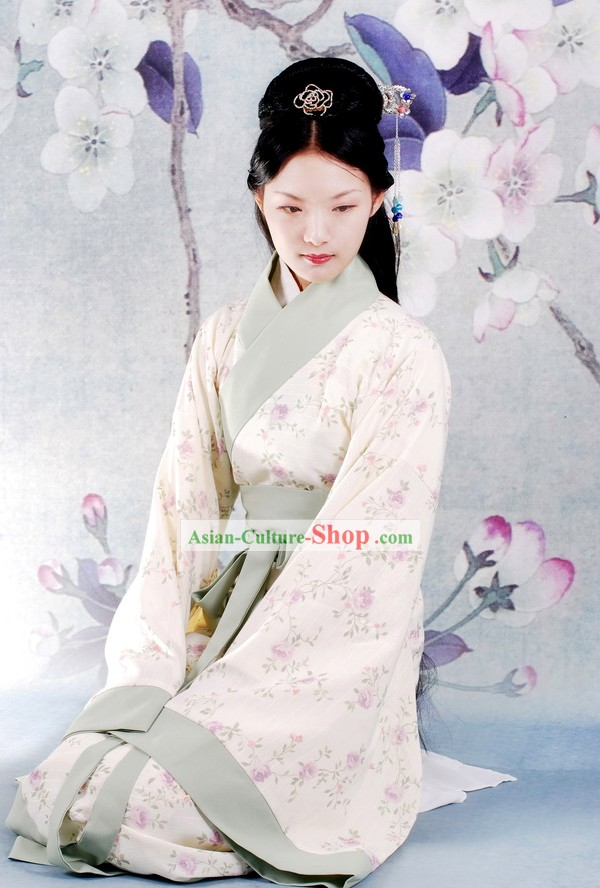 China Han Dynasty Women Clothing Complete Set