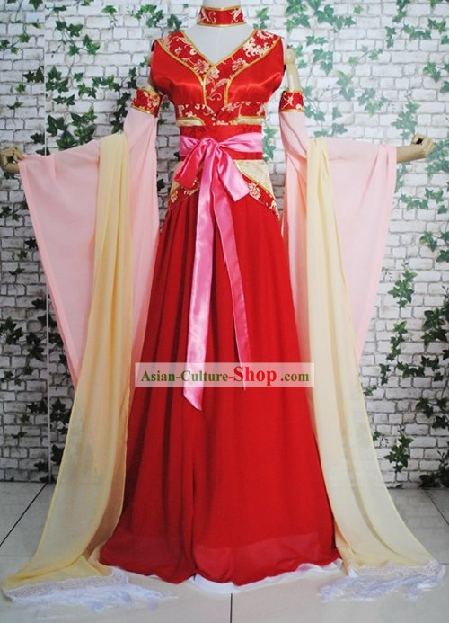 Chinese Traditional Wedding Bridesmaid Dress Complete Set