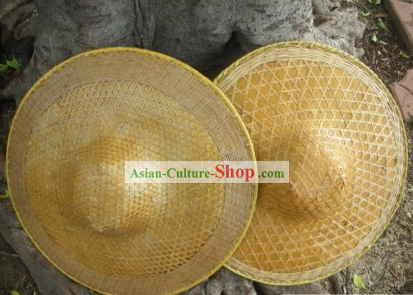 Chinese Traditional Handmade Bamboo Hat