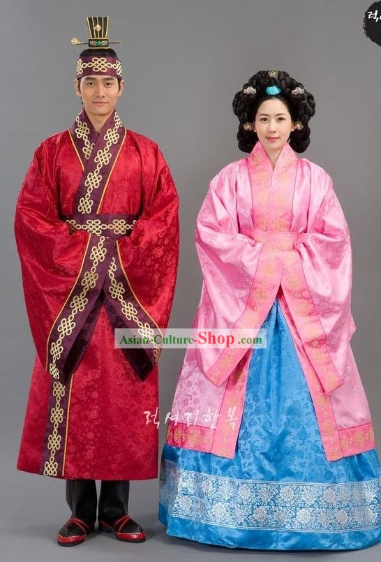 Ancient Palace Korean Hanbok for Men and Women