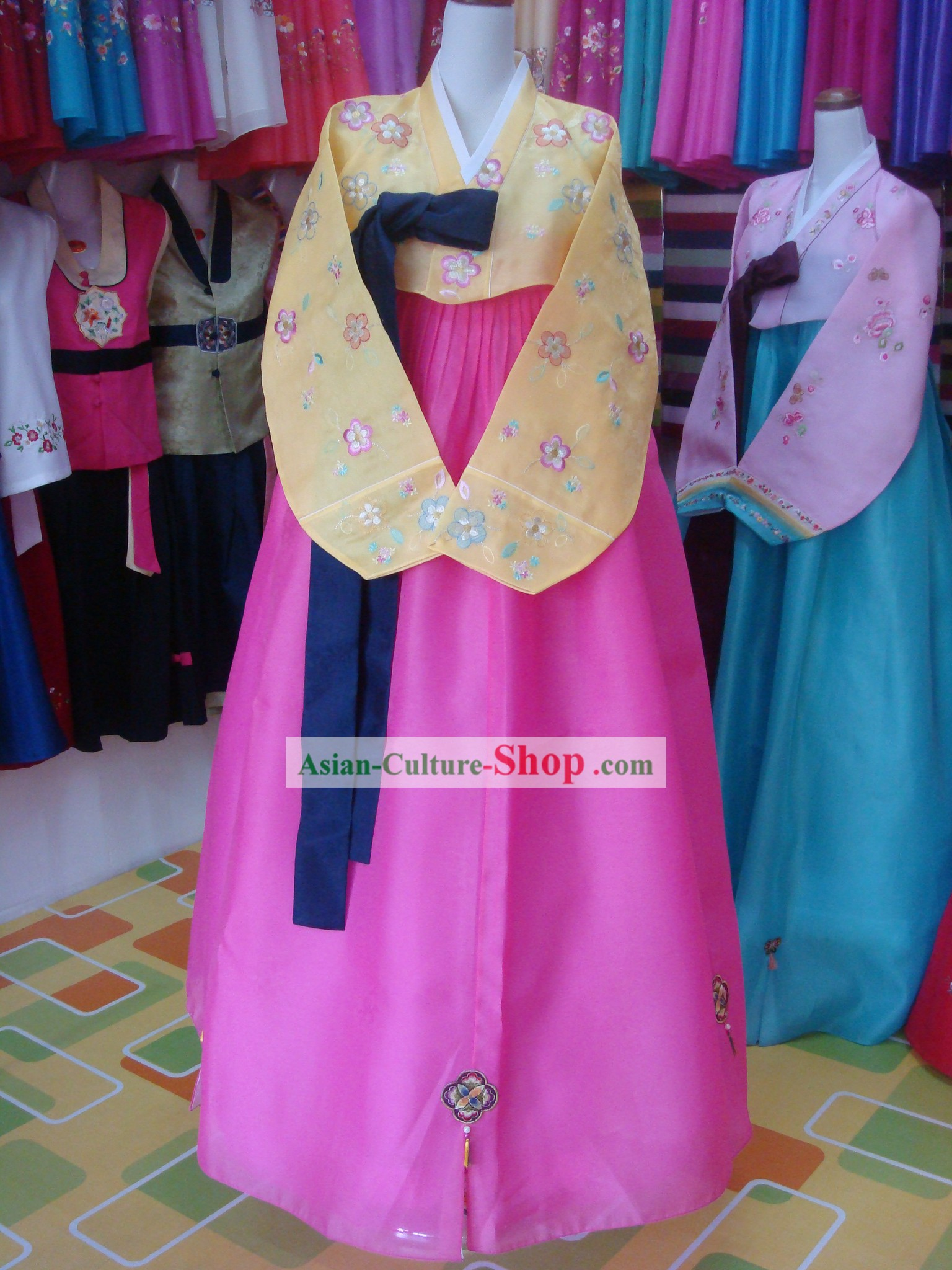 Korean Mother Hanbok Wedding Dress