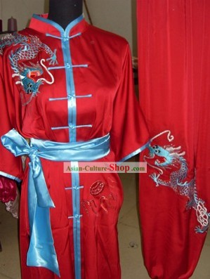 Dragon Martial Arts Uniform/Wushu Competition Suit