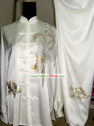Chinese Professional Silk Taiji Quan Uniform