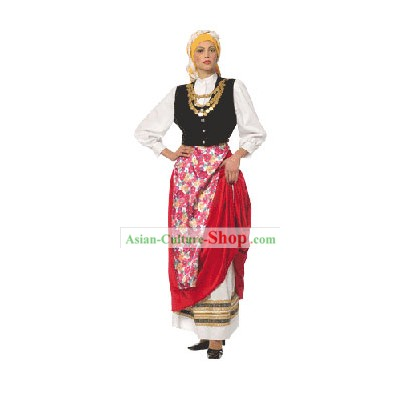 Cefalonia Homme Costume Traditionnel danse grecque