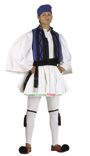Roumeli Male Traditional Greek Dance Costume