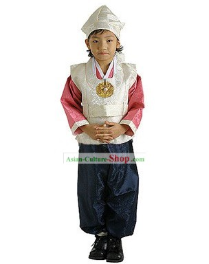 Traditional Korean Child Hanbok Complete Set