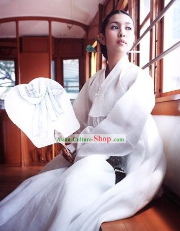 Traditional Korean Hanbok Costume Set