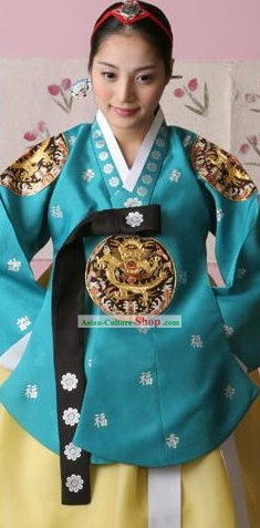 Traditional Korean Hanbok Dress Set