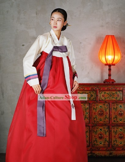 Traditional Female Korean Hanbok Set