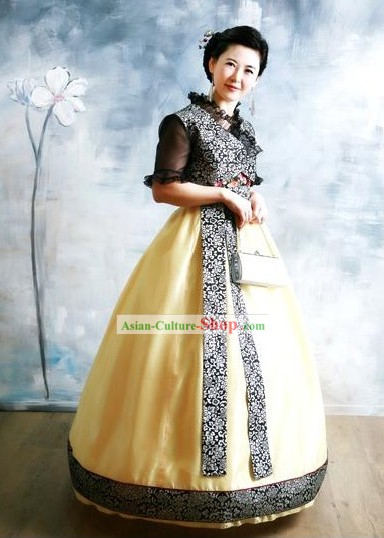 Modern Korean Hanbok National Dress Set