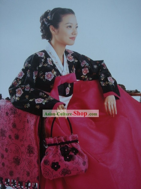 Supreme Korean Hanbok Dress for Women
