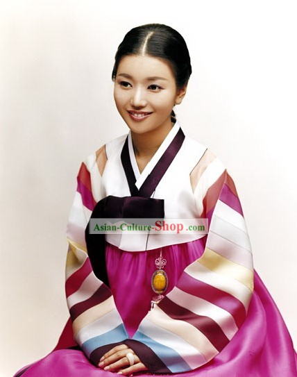Traditional Korean Hanbok National Dress