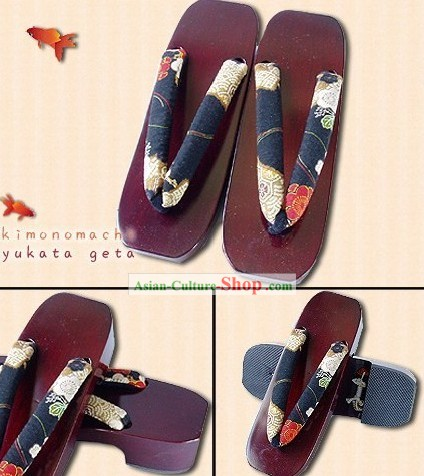 Traditional Japanese Geta for Girls