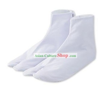 Traditional Japanese White Socks
