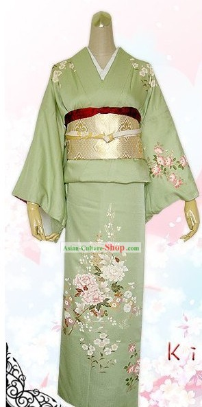 Supreme Japanese Princess Kimono Dress Complete Set