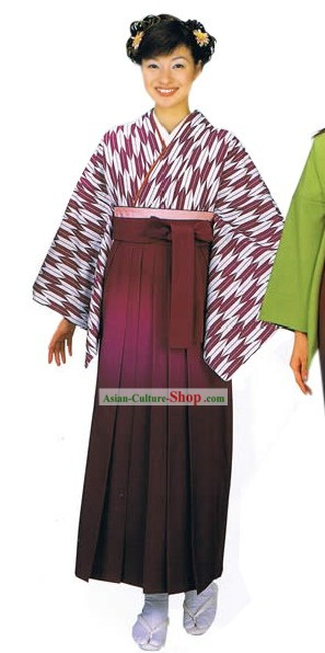 Ancient Japanese Clothing for Women