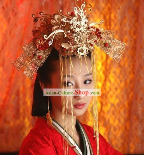 Chinese Ancient Princess Wedding Phoenix Crown