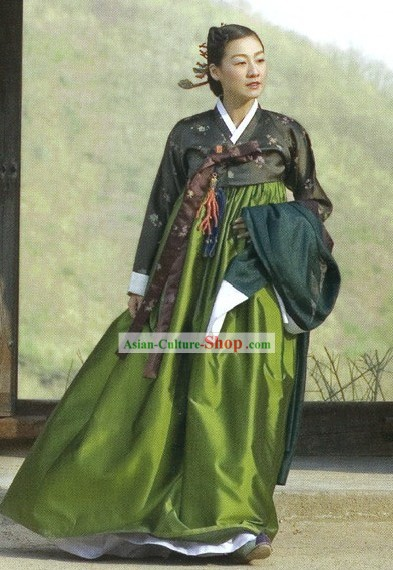 Ancient Korean Noblewoman Hanbok Dress