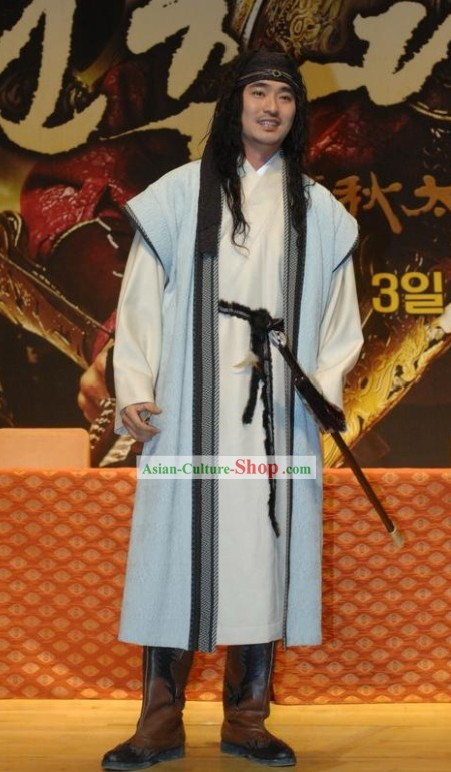 Ancient Korean Swordsman Costume Set